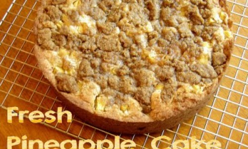<h2><a href='http://www.gigicakes.net/fresh-pineapple-cake/'>Fresh Pineapple Cake</a></h2>Most of the things in my life are analyzed, researched, and all consequences are weighed. Because of this quirk I am extremely neat and organized (I think this is why